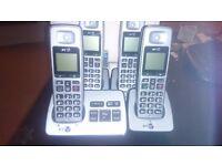 bt 2500 quad digital phone set