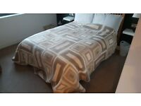 Large Quilted Bed Throw - Immaculate Conditon