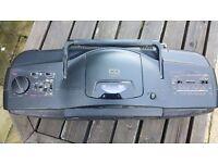 JVC RC-X610 Cassette Tape Radio CD Player