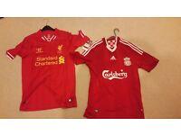 Liverpool football shirts