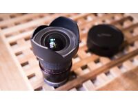Sony E-mount Samyang 14mm 2.8 Full frame Wide angle Lens for Sony A7 A7S A7R etc Solid build F2.8