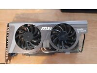 Nvidia GTX 560 Ti twin frozr edition graphics card