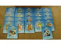 "Disney ""world of knowledge"" books x22"