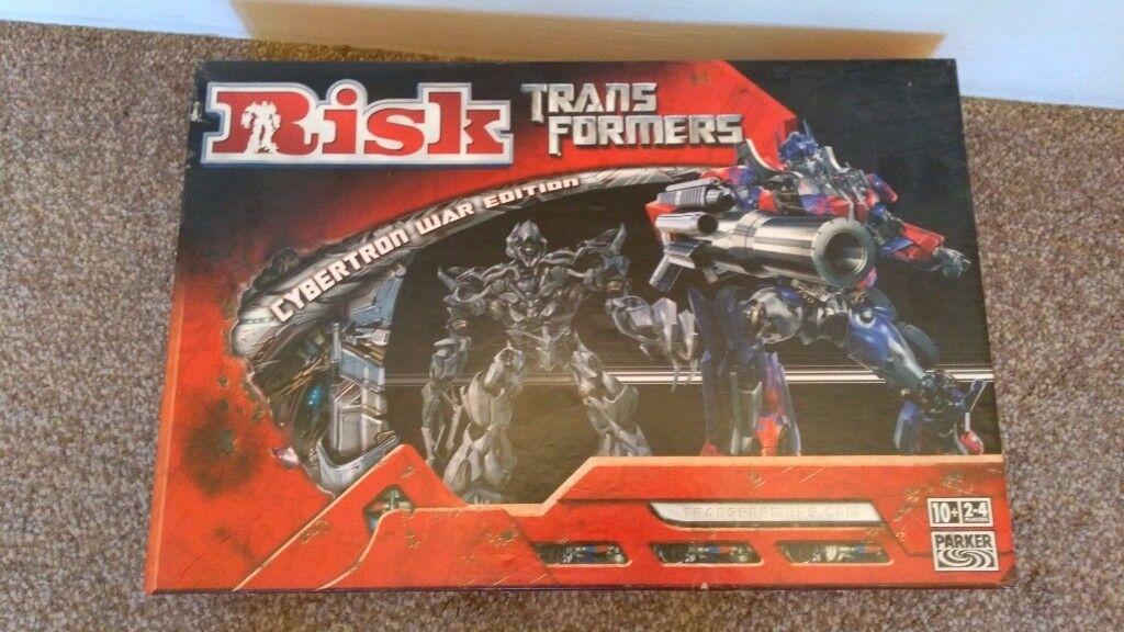Risk - Transformers Board Game