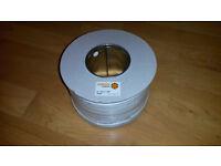 Burglar Alarm Cable. 6 Core, 100 Metres Reel.