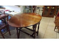 Gate Legged Dining Table