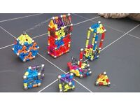 Magnext magnetic construction toy and magnext case for sale over 200 pieces.