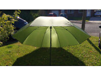 Fishing umbrella - approx 6 foot diameter - tiltable head