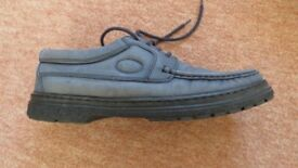 Luca Ferrari Italian made Blue Suede Shoes Size 8