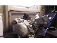 Yamaha dtr 125 engine and parts not a Honda suzuki rm yz tzr