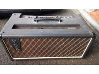 "Vintage Vox AC-50 Mk 2 1964 Twin-channel ""Large Box"" Valve Guitar Amplifier"
