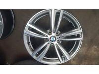Genuine BMW 3&4 Series F30 F31 F32 F33 F36 M SPORT ALLOY WHEEL 8J X 19 19 inch