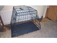 Dog Travel Slopping Car Crate