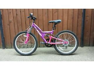 Girls Apollo Bicylcle in pink/purple