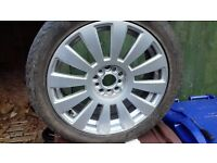 4 x good condition Alloy wheels and winter tyres about 20% used.