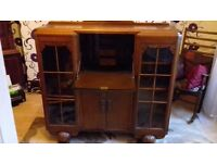 Antique sideboard bureau.