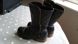 Clarks childrens boots, size 11G