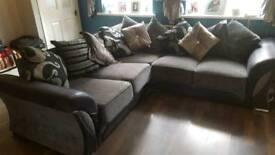 Corner sofa 7ft7by 7ft7
