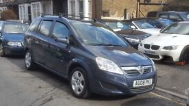 V ZAFIRA BREEZE 1.9 CDTI 2008 1LADY OWNER FROM NEW 127000 MILES FULL SERVICE HISTORY 7SEAT AC 6SPEED