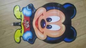 "Job lot brand new 350 mickey mouse helium balloons 18"""