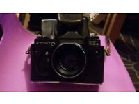 ZENIT CAMERA WITH LENSE AND CASE