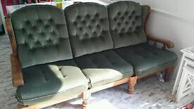 Fabulous 50's designer Goran Malwal suite of furniture.