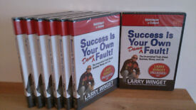 Larry Winget - Success is your own damn fault! Nightingale Conant 7 CD/DVD Set.