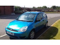 ford fiesta 54 plate, 1.2 petrol, mot september, immaculate car average miles drives superb