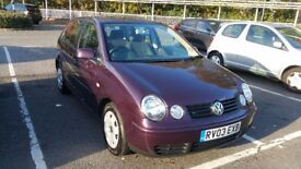 VW Polo 1.4 SE 5 Doors 2003