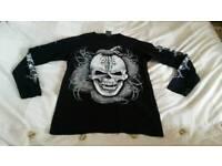 Men glow in dark skull top tops clothes
