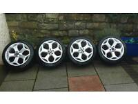 "18"" ford st replica alloy wheels"