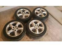 Vauxhall 17 inch alloy wheels