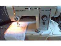 new home triple zig zag electric sewing machine