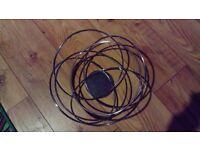 Atomic Spun Chrome Tube Wire Fruitbowl Designed By Aero