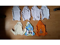 55 items FIRST SIZE BABY CLOTHES BUNDLE Newborn - 3months