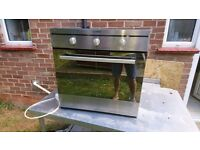 Oven and hob for sale - integrated. Halogen hob and electric oven