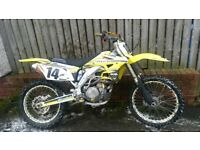 suzuki rmz 450 race tuned 2006/7 very fast fast with trick bit mods great bike great xmas gift