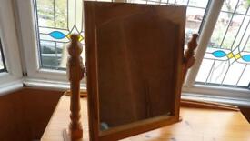 Dressing table, mirror and stool for sale