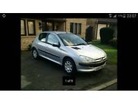 5 Door's PEUGEOT 206 HDI 2.0 Silver colour code is EZR, BREAKING FOR SPARES PARTS SPARES REPAIR