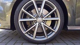 Genuine OEM Audi S3 alloy wheel 19 inch