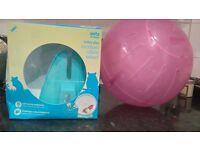 Hamster wheeland ball