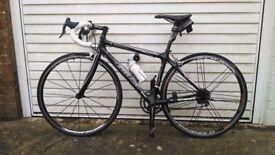 Carbon Fibre Racing Bike with Campagnolo Super Record Campag Zonda Wheels