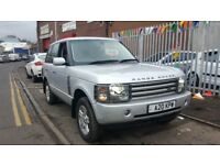Land Rover Range Rover 3.0 Td6 Vogue 5dr **SILVER WITH NAVY LEATHER GREAT COMBINATION**4X4 SEASON**
