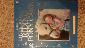 Little book of horse riding and pony care