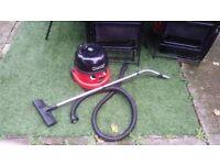 Numatic Henry HVR 200M-22 Allergy HEPA 1200w Vacuum Cleaner & 1 bag- RED