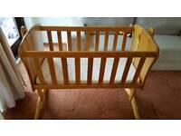 Baby Rocking Crib with mattress