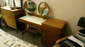 Vintage retro dressing table