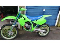 1992 kx 125