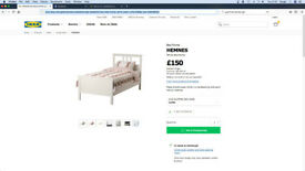 Selling Bed Frame in a really good condition for 80£
