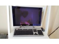 Phillips pc screen, compaq keyboard and packard bell mouse